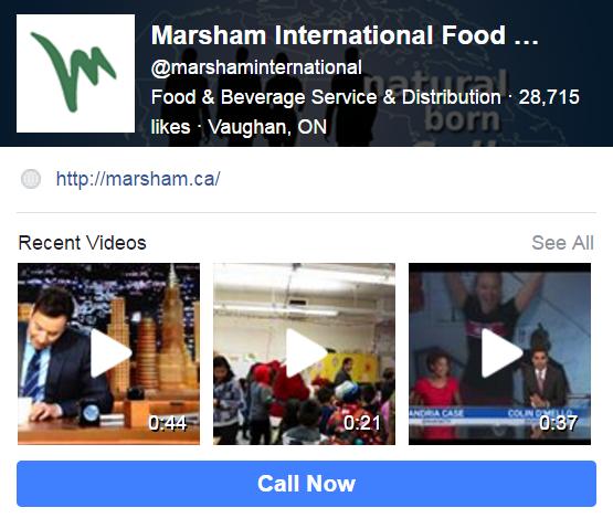 Canadian food brokers social media