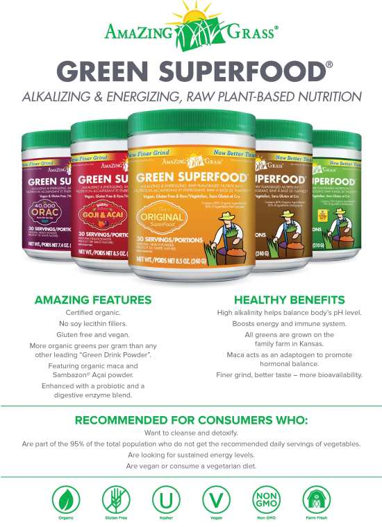 Amazing Grass Green Superfood Marsham International Food
